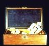 Joseph Cornell / Untitled (Chest with Sponges) / c. 1948