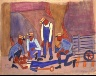 William H. Johnson / Miners--FirstAID / ca. 1942-1944