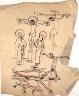 William H. Johnson / Crucifixion Sketches / ca. 1944