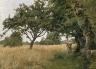 H. Bolton Jones / Brittany Landscape / 1877