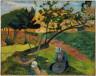 Paul Gauguin / Landscape with Two Breton Women / 1889