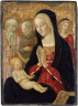 Francesco di Giorgio Martini / Madonna and Child with Saint Jerome, Saint Anthony of Padua and Two Angels / not dated