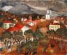 Christopher Wood / Landscape near Vence / 1927