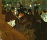 Henri Marie Raymond de Toulouse-Lautrec / At the Moulin Rouge / 1892/95