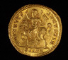 Roman / Coin Showing Emperor Constantine the Great / Reign of Constantine, Roman Empire, A.D. 324-25