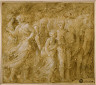 Biagio Pupini / Procession of Figures and Oxen / 1511-1551