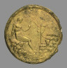 Roman / Hand Mirror / Imperial Period, 2nd century A.D.
