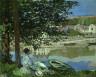 Claude Monet / On the Bank of the Seine, Bennecourt / 1868