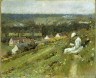 Theodore Robinson / The Valley of Arconville / c. 1887