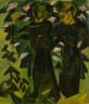 Karl Schmidt-Rottluff / Two Girls in a Garden / 1914