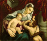 Jacopo Bassano / Virgin and Child with the Young Saint John the Baptist / 1560/65