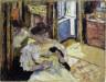 Edouard Jean Vuillard / Woman Seated on a Sofa / c. 1906