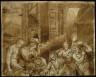 Giulio Romano / Adoration of the Shepherds: Upper Half / 16th century