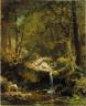 Albert Bierstadt / Mountain Brook / 1863