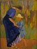 Augustus Edwin John / Woman and Child / ca. 1911-12
