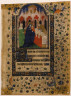 Anonymous / Page from a Book of Hours: Presentation in the Temple / ca. 1435