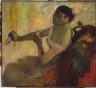 Edgar Degas / Portrait of Rose Caron / ca. 1885-90