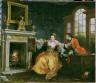 William Hogarth, English, 1697-1764 / The Lady's Last Stake / 1759