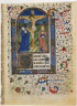 Anonymous / Page from a Book of Hours: Crucifixion / ca. 1440