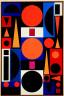 Auguste Herbin / Vie No. 1 / 1950
