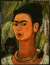 Frida Kahlo, Mexican, 1910-1954 / Self Portrait with Monkey / 1938