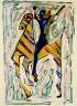 Marino Marini / Horse and Rider / 1952