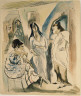 Jules Pascin / Gossip / ca. 1910