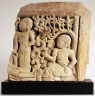 Javanese / Relief of Two Figures / not dated