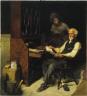 Norman Rockwell / Memories (Elderly Gentleman Reminded of a Past Love) / 1924