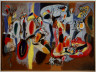 Arshile Gorky, American, born Armenia, 1904-48 / The Liver is the Cock's Comb / 1944