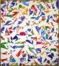 Simon Hantai / Untitled (cF.3.4.34) / 1974