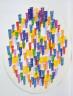 Piero Dorazio, Italian, born 1927 / A Peaceful Solution / 1976-77