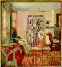 Édouard Vuillard / The Painter Ker-Xavier Roussel and His Daughter / 1903