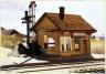 Edward Hopper, American, 1882-1967 / North Truro Station / 1930