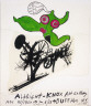 Jean Tinguely / First Drawings for 'Paradis Fantastique' Poster / 1967