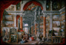 Giovanni Paolo Pannini / Picture Gallery with Views of Modern Rome / 1757
