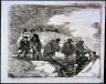 Francisco Goya Y Lucientes / No saben el camino / 1820-1823
