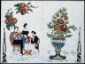 Unidentified artist, 19th century / Decorated Notepaper with Love Poem / Dates not recorded