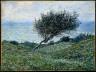 Claude Monet / Sea Coast at Trouville / 1881