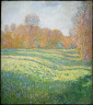 Claude Monet / Meadow at Giverny / 1886(?)