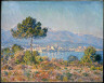 Claude Monet / Antibes Seen from the Plateau Notre-Dame / 1888