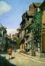 Claude Monet / Rue de la Bavolle, Honfleur / about 1864