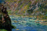Claude Monet / Valley of the Creuse (Sunlight Effect) / 1889