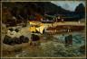 Albert Bierstadt / Fishing Boats at Capri / 1857