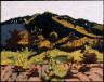 Stuart Davis / Autumn Landscape / 1915-16
