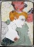 Henri de Toulouse-Lautrec / Mlle. Marcelle Lender, en buste / not dated