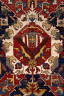 Artist not recorded / Dragon carpet (fragmentary) / about 1700