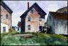 Edward Hopper / Gloucester Mansion / 1924