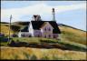 Edward Hopper / Hill and Houses, Cape Elizabeth, Maine / 1927