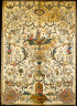 Artist not recorded / Wall panel or headcloth from a set of bed hangings / about 1730-50